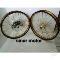 Velg TDR Sepaket - Motor Matic Ring 17 Mio-Beat-Vario-125 150 Limited