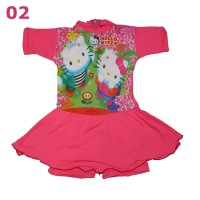 Baju Renang anak Hello Kitty 2-4 tahun