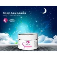 NIGHT CREAM Lotion Pink Arischa Beauty Secret 12gr BPOM Halal
