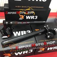 Stang Jepit WR3 Ninja 250 Fi 2018 R25 Ninja 650 Clip On Model Moto2