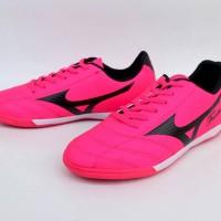 Sepatu Olahraga Futsal Mizuno Fortuna Pink List Hitam Import