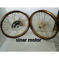 Velg TDR Sepaket - Motor Matic Ring 17 Mio-Beat-Vario-125 150-Xride