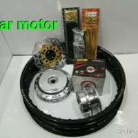 Velg Sepaket TDR Ring 14 Motor Beat - Vario - Mio - Scopy - Fino - N