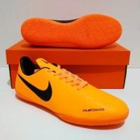 SEPATU FUTSAL Nike Phantom VSN Vision IC (Orange Black)GRADE ORI IMPOR