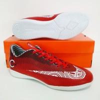 SEPATU FUTSAL Nike Mercurial CR7 IC (Red White) GRADE ORI IMPORT