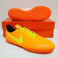 SEPATU FUTSAL Nike Phantom VSN Vision IC (Orange White)