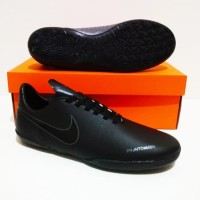 SEPATU FUTSAL Nike Phantom VSN Vision IC (Black Grey) GRADE ORI IMPORT