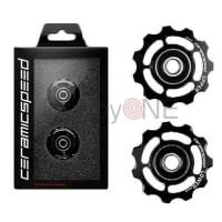 Ceramic Speed Pulley Wheels For Shimano 11s BLACK Standard