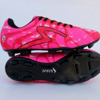sepatu futsal specs barricada ultima pink liust hitam murah