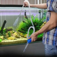 Alat penguras kuras penyedot sedot air aquarium cleaner pump sipon