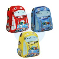 Tas ransel anak laki-laki/tas mobil tayo/tas anak sekolah/tas sekolah