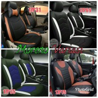 RESTOK Sarung Jok Mobil Avanza Airbag 2013