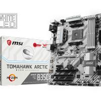 MOTHERBOARD MSI B350 Tomahawk Arctic - MURAH BARU