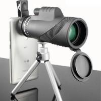 Teropong Monokular Smartphone Hiqh Quality 40 x 60 Lensa Tele Android