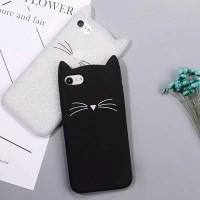 Soft Case TPU Back Cover 3D Cute Cat Motif iPhone 5/5S/SE, 6/6S Plus