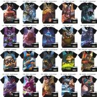 Kaos Mobile Legends 3D Anak dan Dewasa - Baju Gamer Mobile Legend 3D