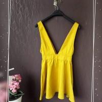 baju wanita sisa export warna kuning, murah