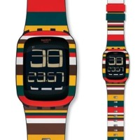 Jam Tangan Swatch Tendone SURB122 Touch Screen