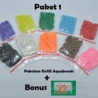 Aquabeads refill 1200 pcs Aquabead / Beads / Bead