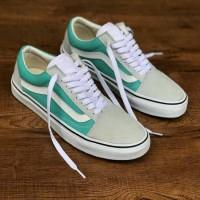 Sepatu Sneakers Vans Old Skool Tosca Grey Premium Original