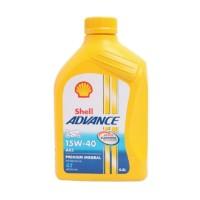 .Oli motor Shell Advance AX5 0.8L 15W-40