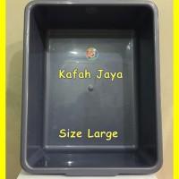 Bak Pasir Kucing / Cat Litter Box kotak ukuran besar / large