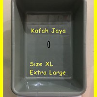 Bak Pasir Kucing / Cat Litter Box kotak ukuran ekstra besar / XL