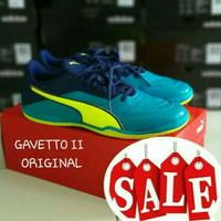 sepatu futsal puma gavetto II blue ic original