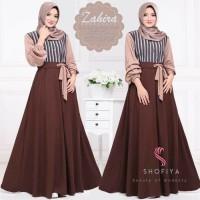 Baju Gamis Wanita Terbaru Zahira Dress Baju Maxi Dress Motif Syari