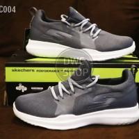 Sepatu olahraga pria skechers go run 2 mojo dark grey