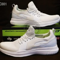 Sepatu olahraga pria skechers go run 2 mojo full whte