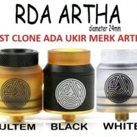 RDA ARTHA 24mm ARTHA RDA CLONE ATOMIZER VAPE