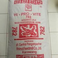 Pakan Makanan ikan lele nila gurame Pelet Hi provit 782 repack 1 Kg