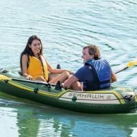 Perahu karet Intex Seahawk 2 Set 68347