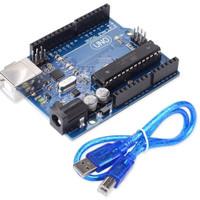 ARDUINO UNO R3 ATMEGA 328 P DIP + Kabel USB