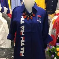 Baju Pakaian Atasan Wanita Tunik Muslim Blouse Tunic FILA 1150