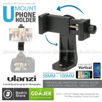 ULANZI Holder Tripod U Mount Horizontal Vertical 360 Smartphone HP