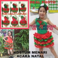 READY Baju Natal Anak Usia 3-7 Tahun/ Uk L & XL/Fashion Show