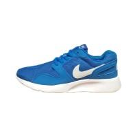 Sepatu Wanita Nike Tanjun Pink Biru Sport Sneakers