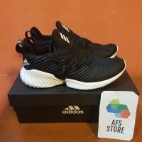 Sepatu Adidas Alphabounce instinct Black White Premium Original