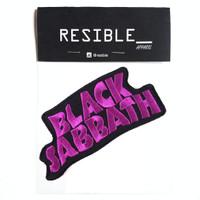 Black Sabbath band music IRON ON patch emblem bordir badge