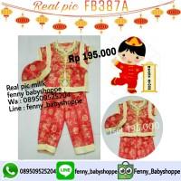 Cheongsham anak FB387A baju imlek
