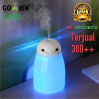 PROMO BAYMAX MINI Pelembab Ruangan Aroma Terapi Lampu Tidur RGB Humid