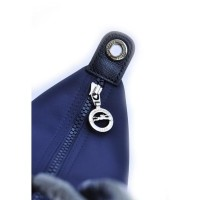 Tas Wanita Longchamp Le Pliage Neo Medium With Long Strap - Navy