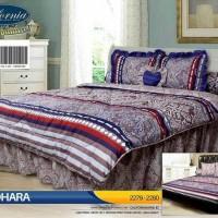 Eksklusif Bed Cover Set California / My Love King 180X200 / Badcover -