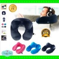 Quality Travel pillow trtl bantal tidur pesawat Mobil penyangga leher