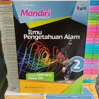 Buku Mandiri IPA kelas 8 SMP K13N Erlangga