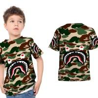 baju anak custom Bape shark art 2