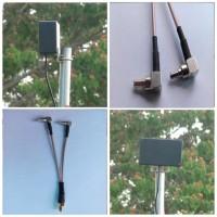 Antena Penguat Sinyal Panel 2 Pigtail Modem Huawei E3276 E3372 E3272