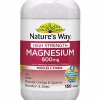 Nature's nature natures way magnesium high strength 600 mg 150 tabs